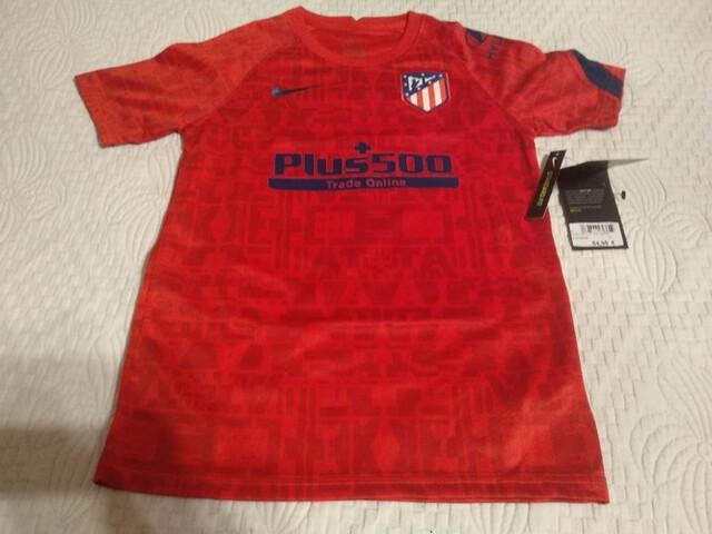 Camiseta  Futbol Niño Atletico De Madrid