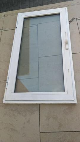 Ventana Abatible Aluminio De 60 X 110 Cm