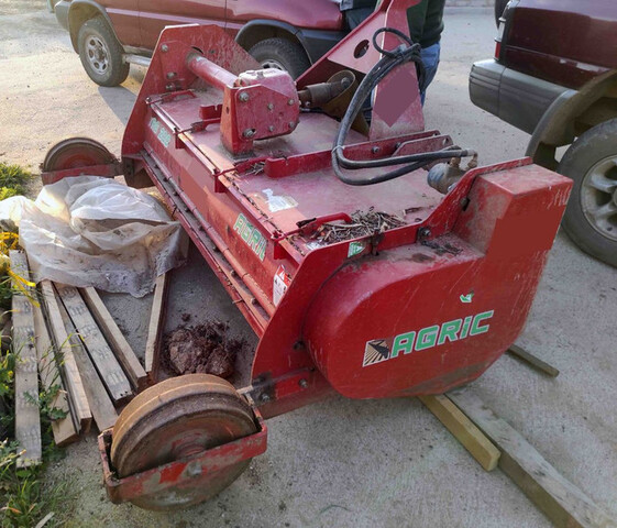 TRITURADORA DE RAMÓN AGRIC TRO200.  - foto 1