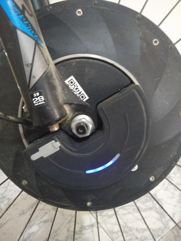 RUEDA ELECTRICA CON MOTOR - foto 2