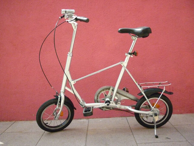 Mini Bicicleta Plegable De Adulto