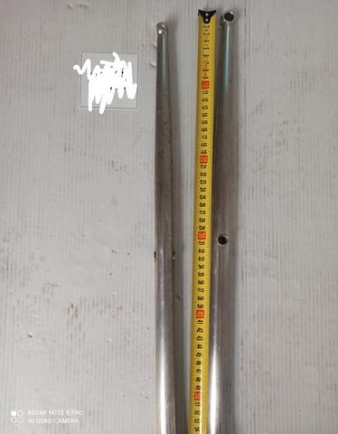 CANDELEROS 54CM ACERO INOX - foto 1