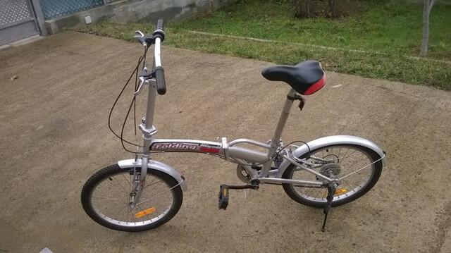 Bicicleta Plegable + Bolsa Transporte