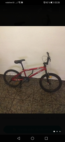 Vendo Bicicleta  Bmx Btwin