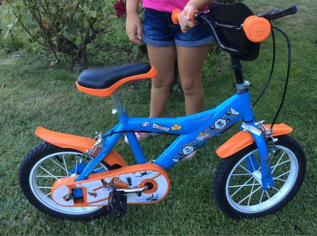Bicicleta Niño 14 Pulgadas.  Impecable