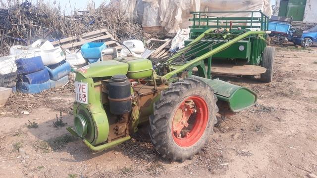 SE VENDE MOTO MULA CON REMOLQUE AGRIA - foto 1