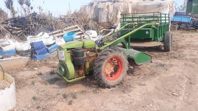 SE VENDE MOTO MULA CON REMOLQUE AGRIA - foto 2