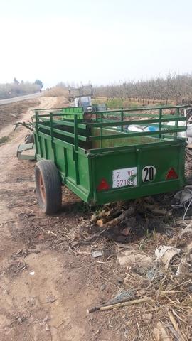 SE VENDE MOTO MULA CON REMOLQUE AGRIA - foto 4