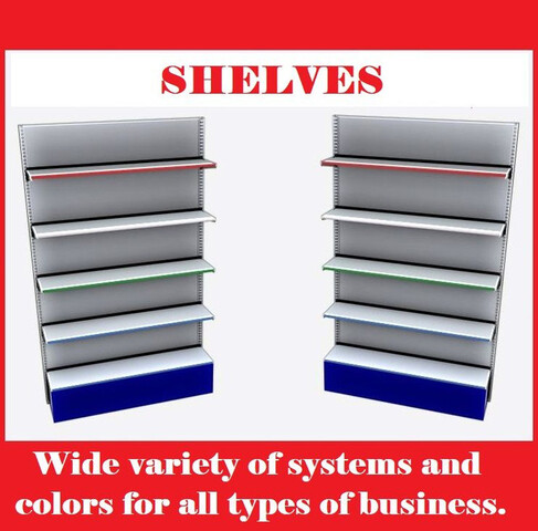 SHELVING AND COMMERCIAL FURNITURE - foto 1