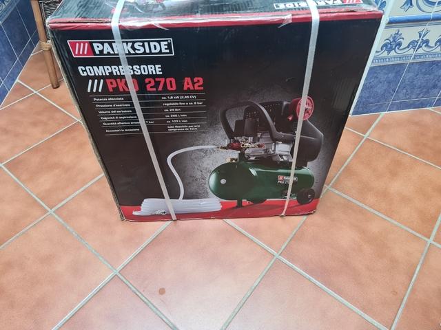 Compresor De Aire+Lijadora+Pistola