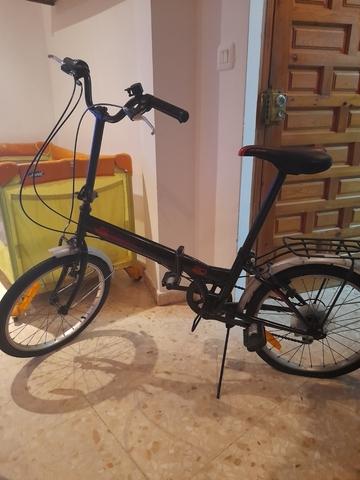 Se Vende Bicicleta Plegable Casi Nueva