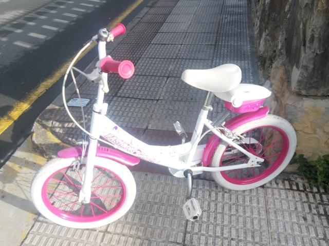 Bicicleta Para Niñas De 16 Pulgadas