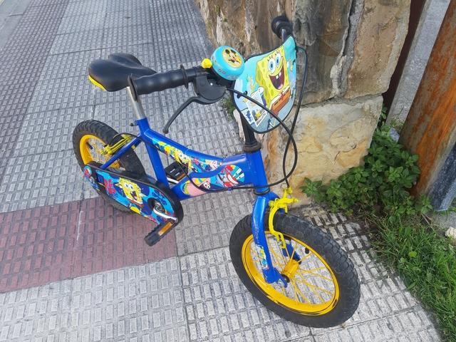 Bicicleta 14 Pulgadas Para Niños