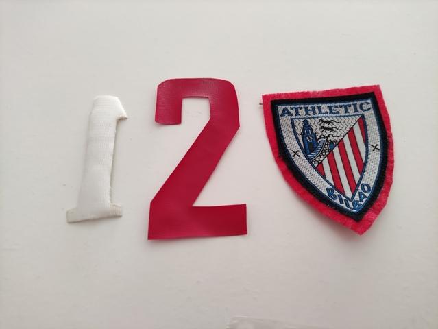 Escudo Camiseta Athletic Antiguo Y 2 Núm