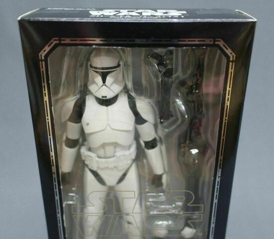 Lote De Figuras De Star Wars Figuarts Sh