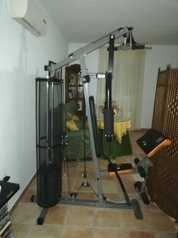Banco Musculacion Multifuncional