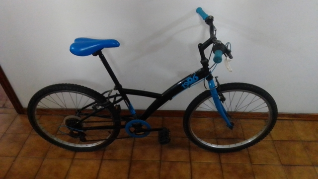 Bicicleta Montaña Ruedas De 24 Pulgadas