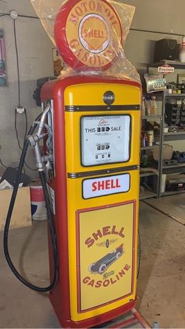 Sirtidor Gasolina Original  Gilbarco
