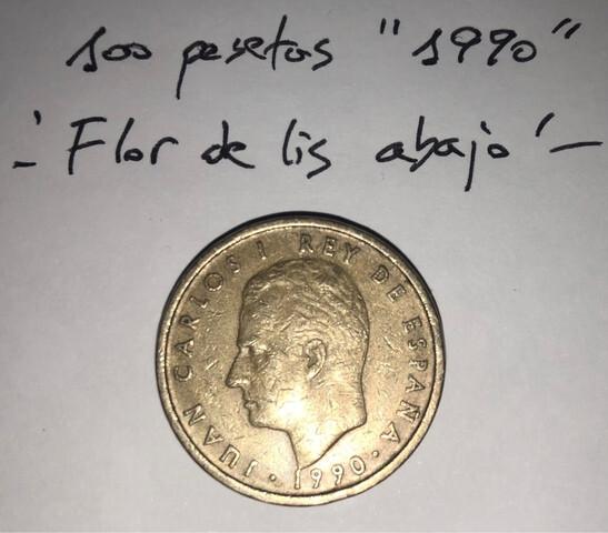 Moneda 100 Pesetas 1990 Juan Carlos I