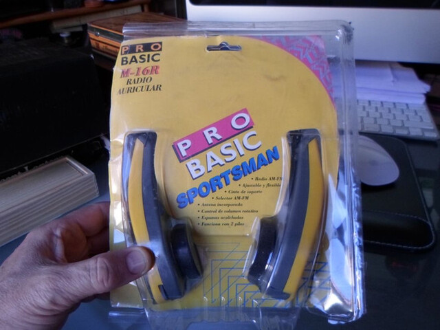 Cascos Radio Marca Pro Basic