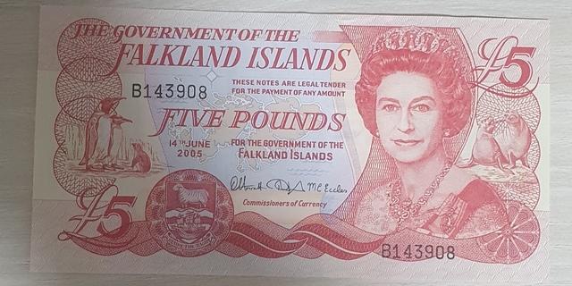 Billetes  Fakland Islands