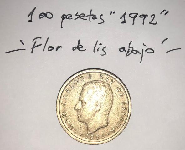 Moneda 100 Pesetas 1992 Juan Carlos I
