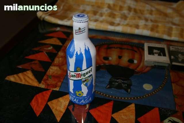 Botella Cerveza Malaga Cf.