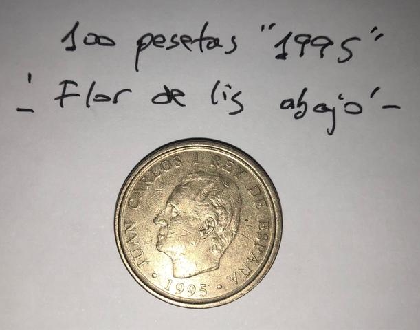 Moneda 100 Pesetas 1995 Juan Carlos I