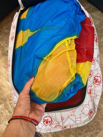 VENDO 2 COMETAS KITE 18 Y REGALO TABLAS.  - foto 3