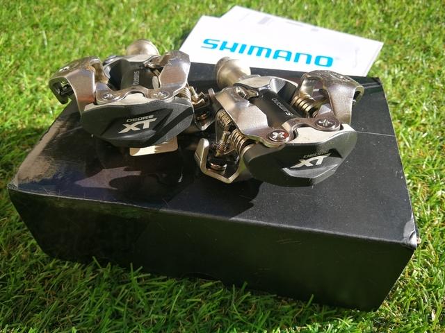 Pedales Automáticos Shimano Xt