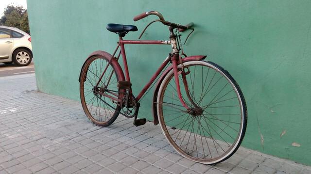Bici Muy Antigua Bh De Varillas Clásica