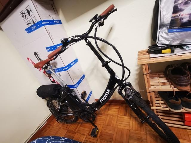E-Bike Bicicleta Eléctrica Plegable