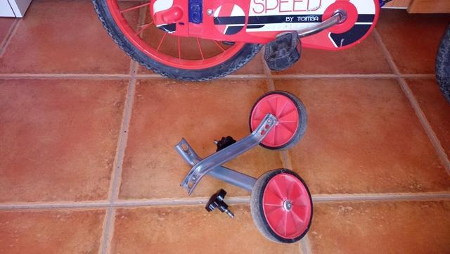 Bicicleta Azul Niño Muy Buen Estado