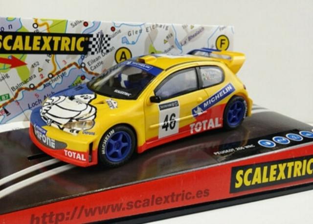 Coche Scalextric Wrc 206