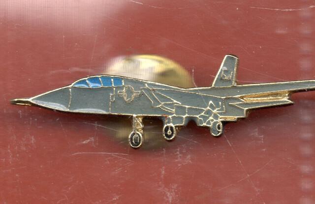 Pin Avion Azul