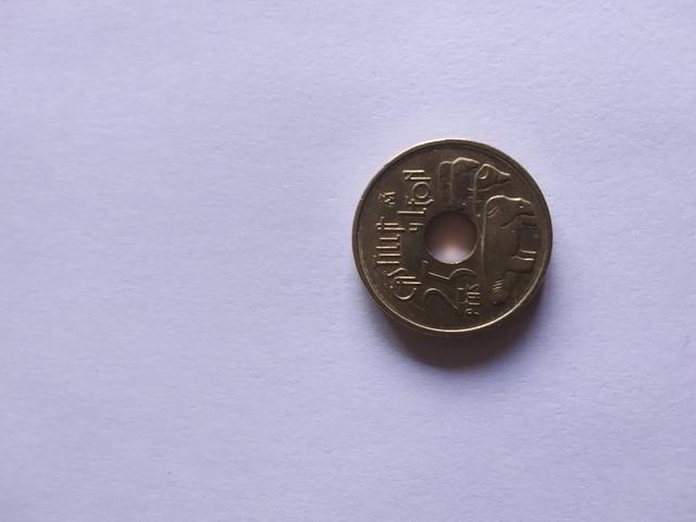 Moneda De 25 Pesetas Castilla Y Leon