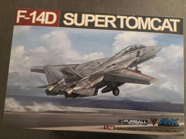 F14D SUPERTOMCAT 1/48 AMK - foto 1
