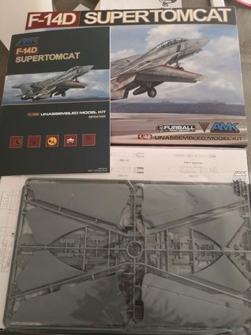 F14D SUPERTOMCAT 1/48 AMK - foto 2