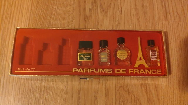 Perfumes Miniatura Franceses