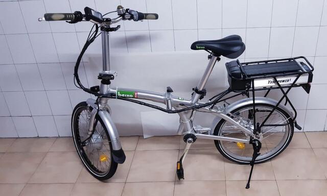 Bicicleta Eléctrica Plegable Beixo