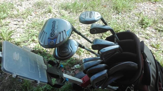 Juego De Golf Más Bolsa 3 Maderas???
