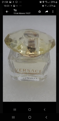 Perfume Miniatura Versace