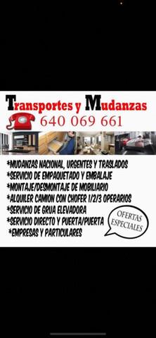 MUDANZAS, TRANSPORTE - foto 1