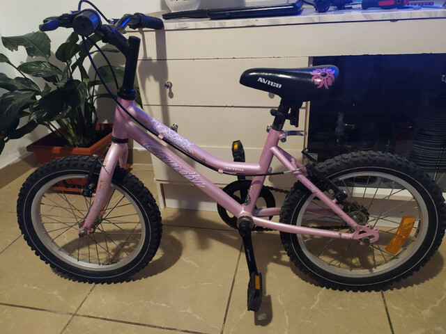Bicicleta Para Niñas De 3 A 7 Años