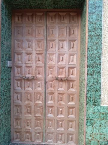 Puerta Exterior De Hierro