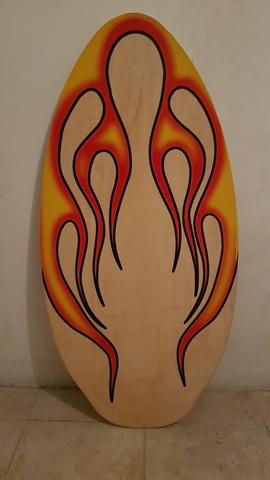 Tabla Bodyboard De Madera