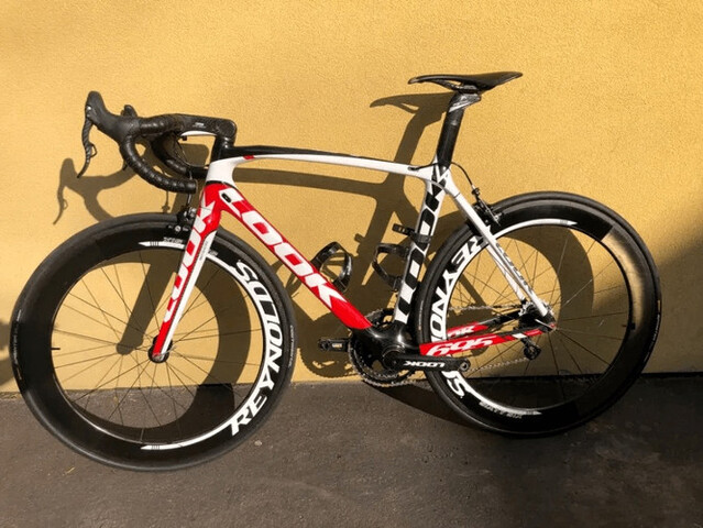 Bicicleta Look 695 Sr M Campagnolo Super