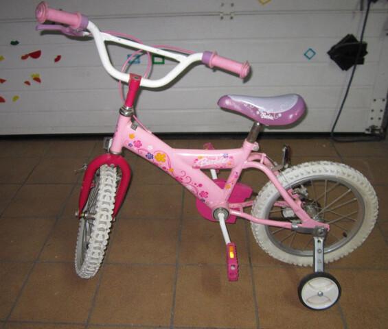 Bicicleta Rosa Para Niñas