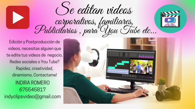 EDICION DE VIDEO Y GESTION REDES SOCIALE - foto 2