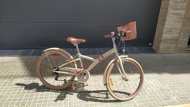 Bicicleta De Niña Casi Nueva